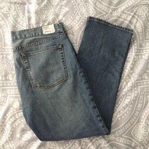 J. Crew Factory Hip Slung City Fit Jeans, 12